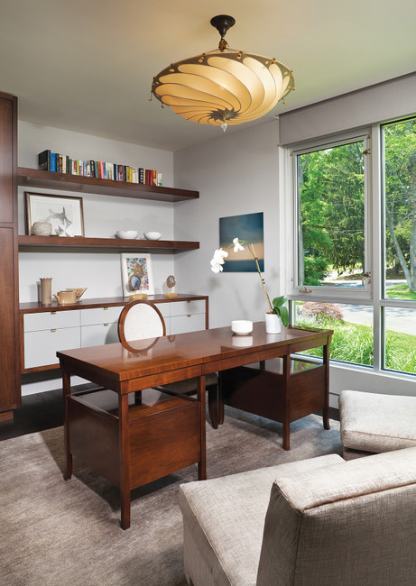 """Home Office Ideas for When You Don't Have a """"Home Office"""""""