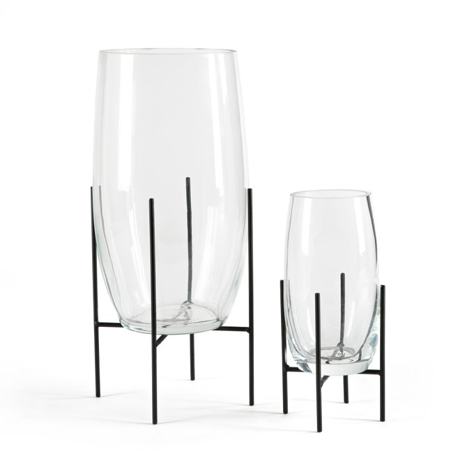 am-pm-nebka-glass-clear-vase-black-metal-stand-modern-set-of-2.jpg