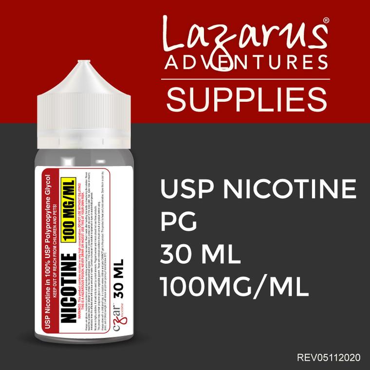 USP Nicotine 100mg/ml - 30ml bottle