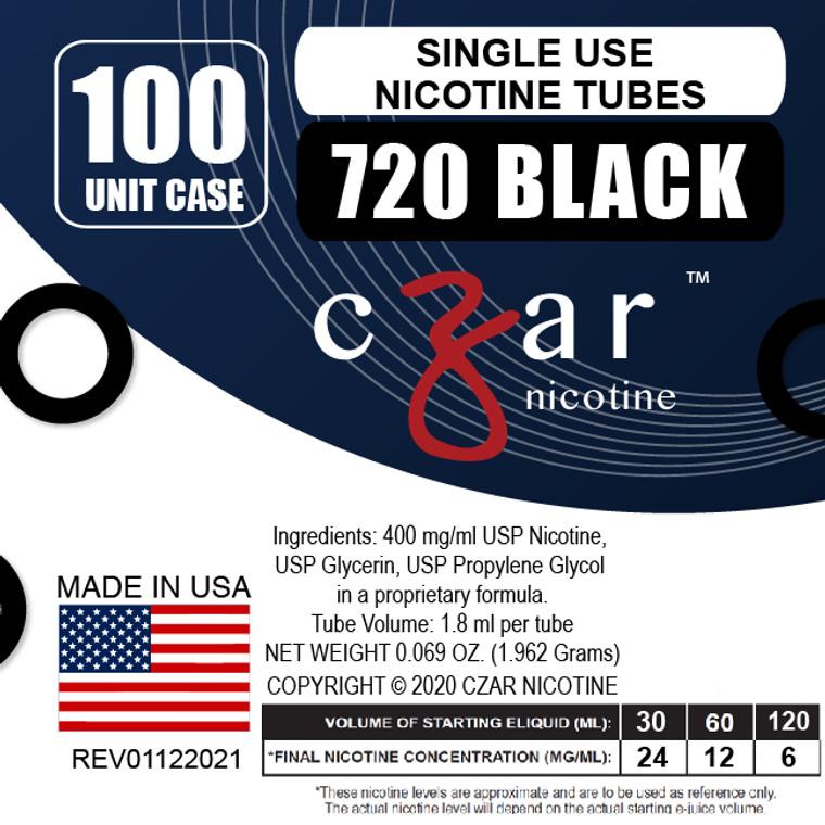 Black Czar Nicotine Units - 720mg/ml