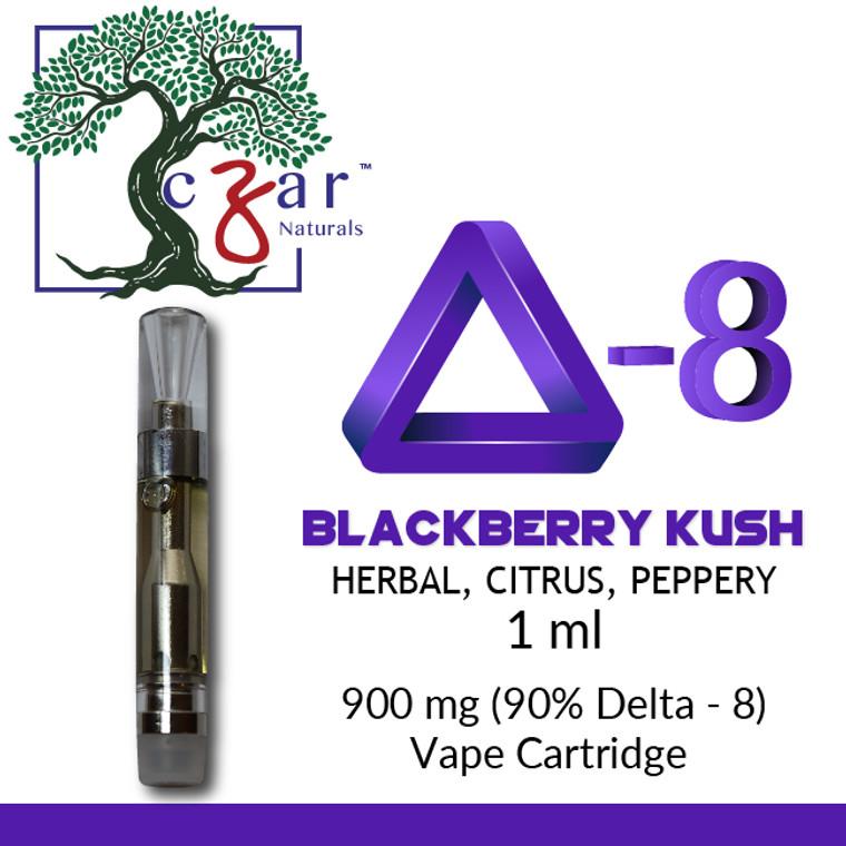 Delta 8 Blackberry Krush Herbal, Citrus, Peppery