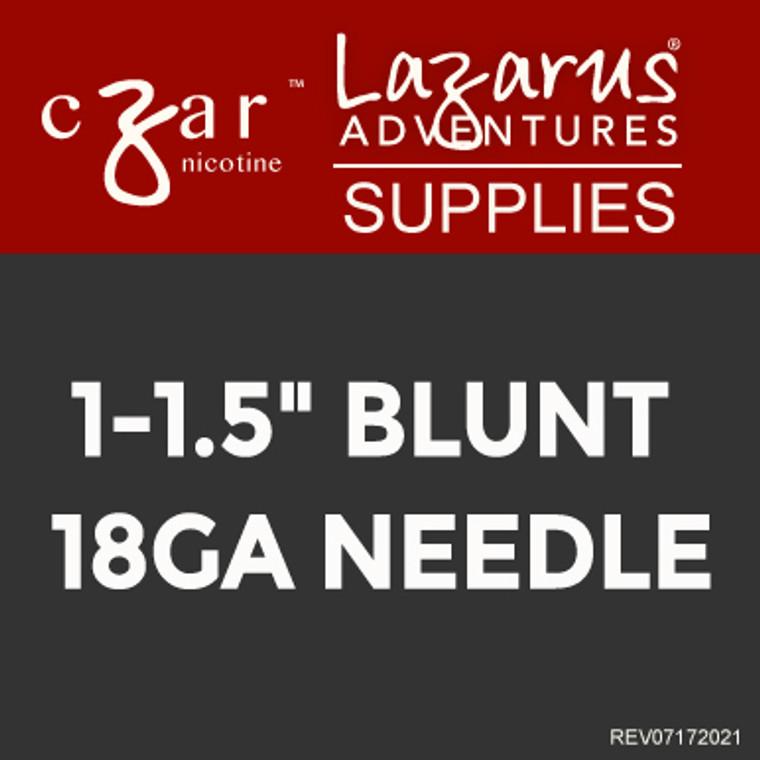 10 Gauge Cannula Blunt Tip - Syringe Sold Separately.