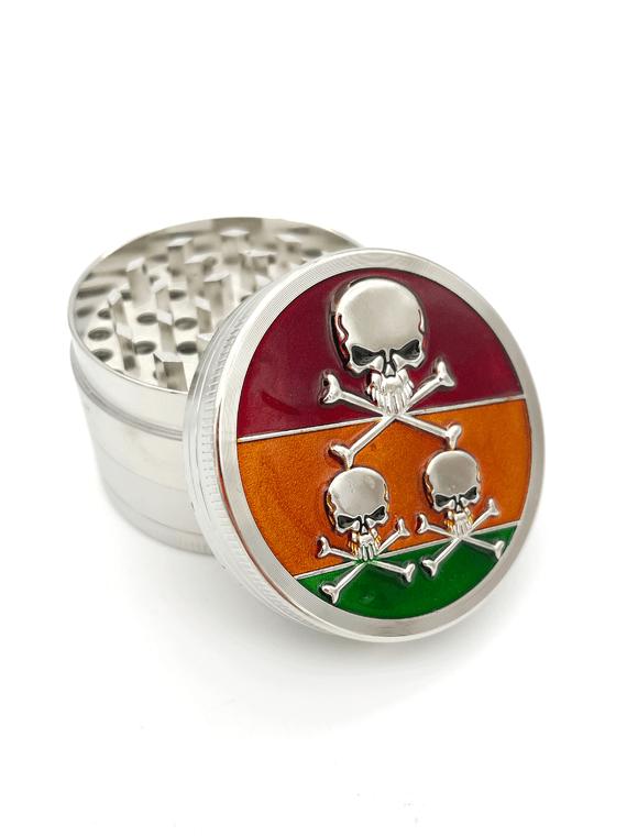 Grinder 3 Stage Skull & Bones