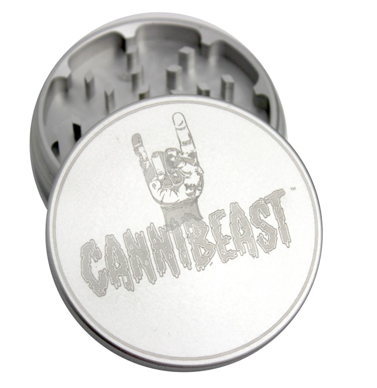 CanniBeast™ Silver Grinder