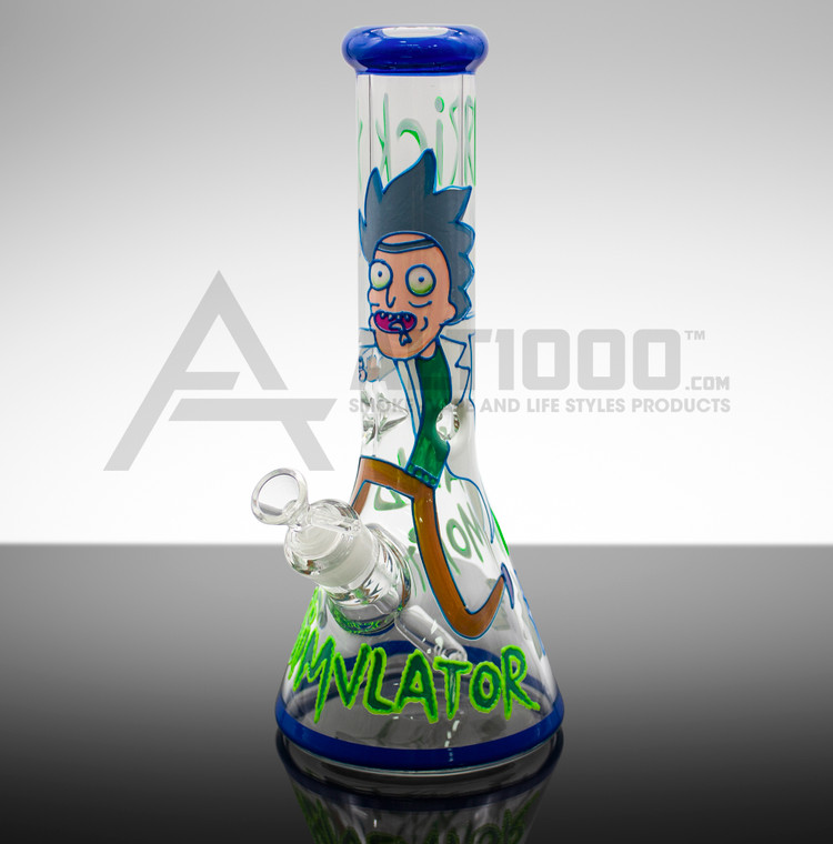 Rick and Morty Simvlator Water Pipe