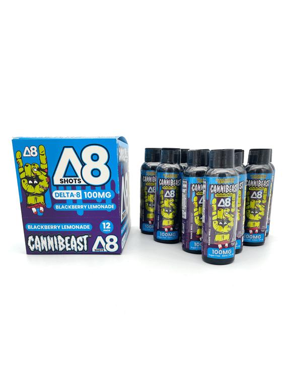Cannibeast® D8 Shot 12 Pack