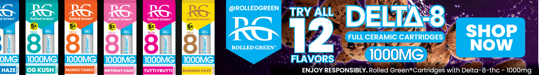 Buy Rolled Green Ceramic Cartridges