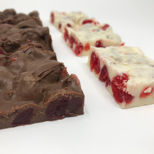 Stutz Candy Milk Chocolate Cherry Bark