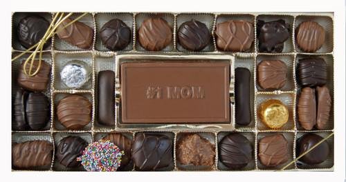 Milk & Dark Chocolate Regular Assortment with #1 MOM Card