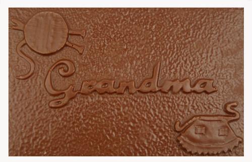 5 oz. Milk Chocolate Grandma Card
