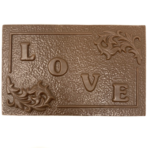 5oz Milk Chocolate 'LOVE' Card