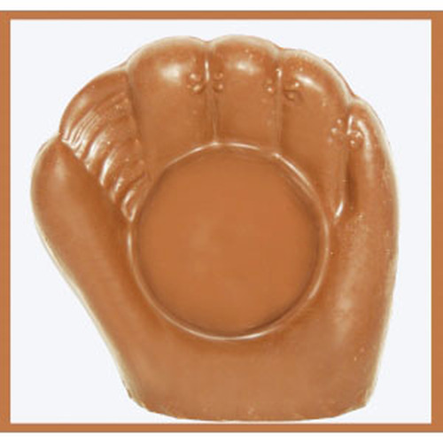 2 @ 5oz EA. Solid Milk Chocolate Baseball Glove