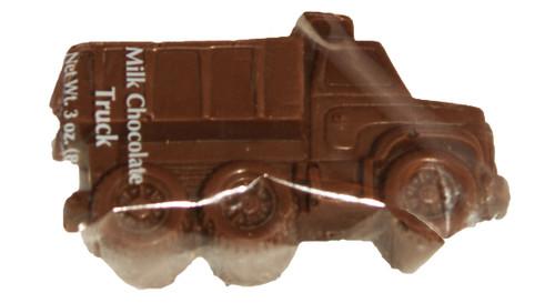 3-3oz ea. Milk Chocolate Trucks