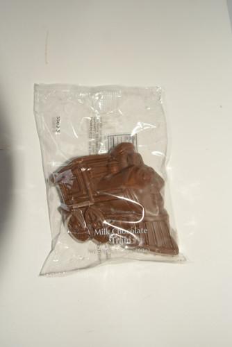 2-3.5oz ea. Milk Chocolate Train