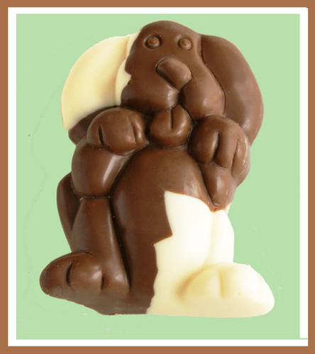 3-2.25oz EA. White & Milk Chocolate Spotted Dog