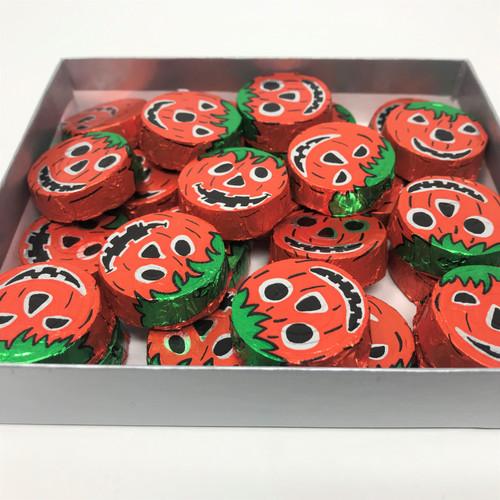 Milk Foiled Crispy Pumpkins