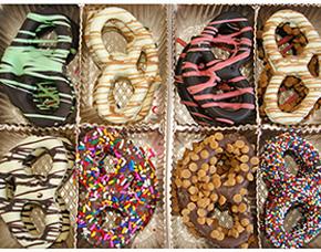 Chocolate Pretzels Gift Box