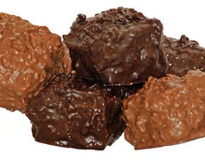 Chocolate Toasted Coconut Jumbo Marshmallows