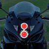 2011 GSX1250F headlight