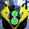 2010 Suzuki GSX1250F headlight