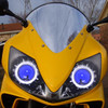 2007 Honda CBR600F4i headlight