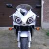 2005 Honda CBR600F4i headlight