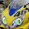 2004 Honda CBR600F4i headlight