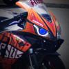 2006 Honda CBR1000RR  headlight