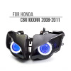 Fit for Honda CBR1000RR 2008-2011 LED Single Angel Eye Headlight Assembly V1