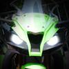 2013 Kawasaki ZX10R headlight