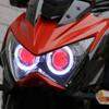 Z800 headlight