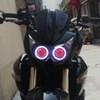2010 Kawasaki Z750 headlight