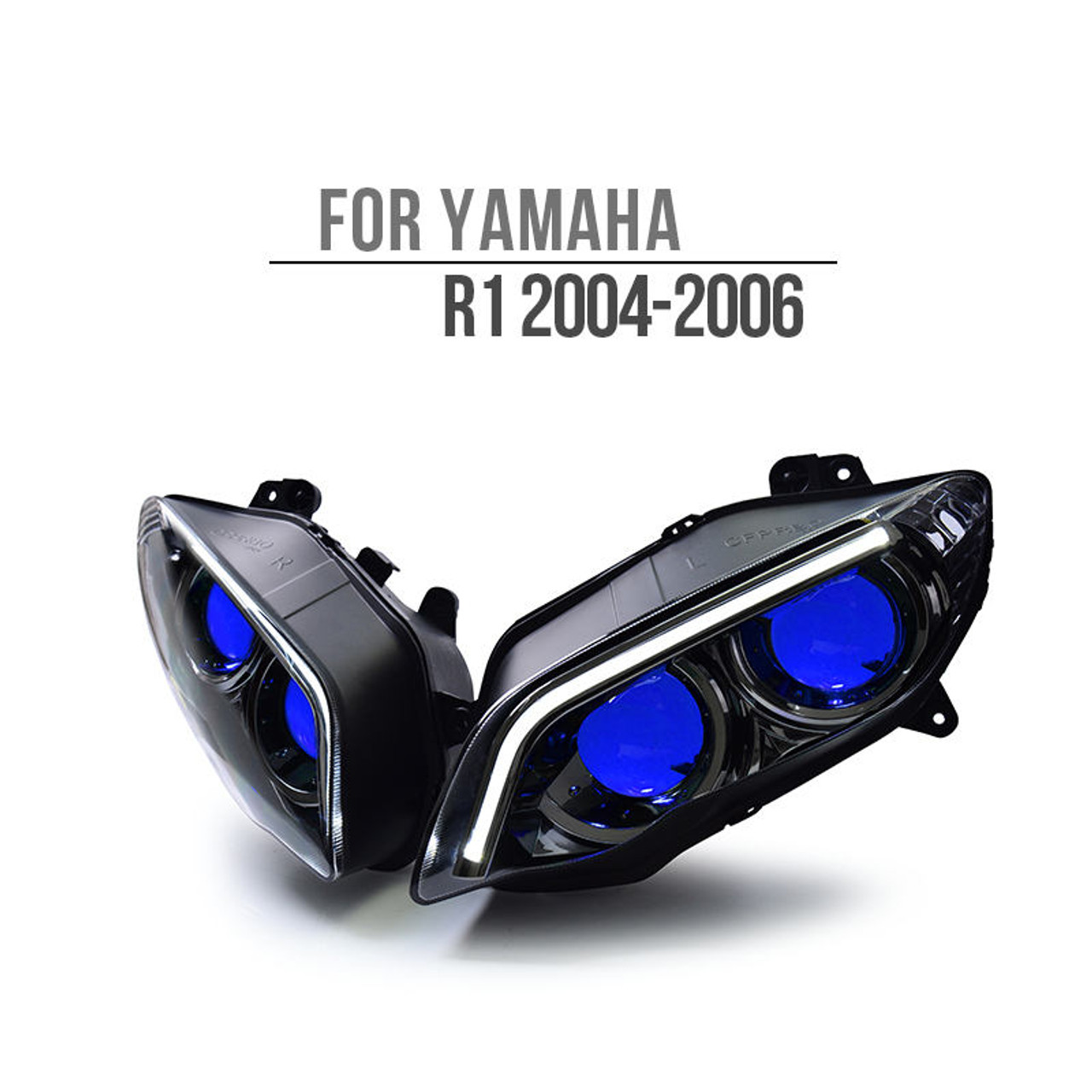 Fit For Yamaha R1 2004 2006 Hid Led Headlight Assembly V2