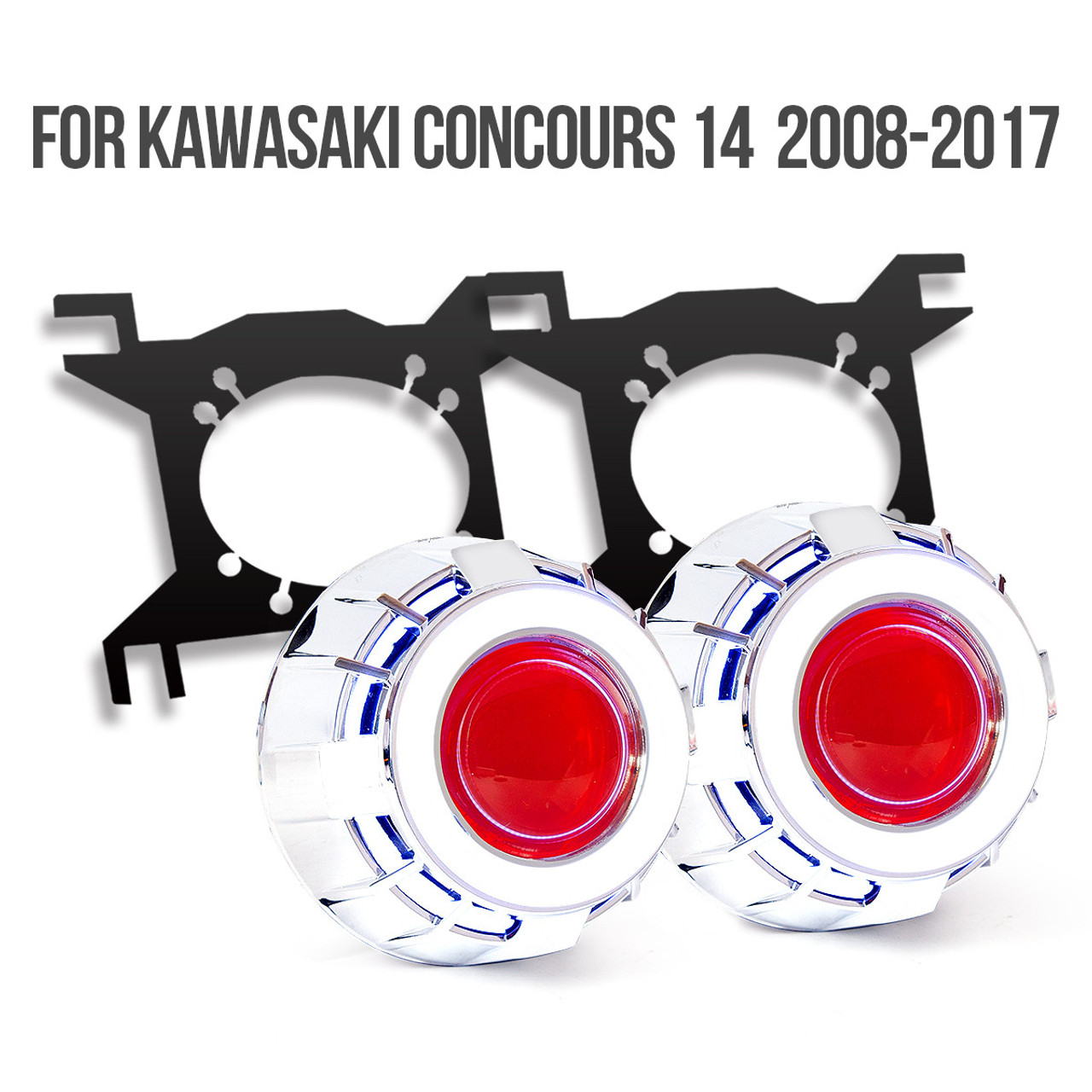 Fit for Kawasaki Concours14/1400GTR/ZG1400 2008-2017 Tailor-Made HID Kawasaki Concours Zg Wiring Diagram on