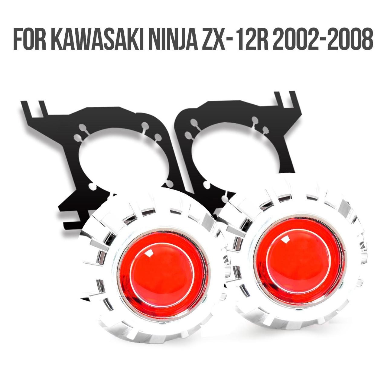 fit for kawasaki ninja zx 12r 2002 2008 tailor made hid projector kit hp35 2000 Kawasaki ZX-12R Parts