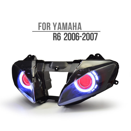 2006 yamaha r6 headlight