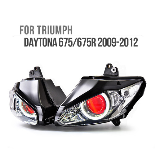 2009 2010 2011 2012 Triumph Daytona 675 675R headlight