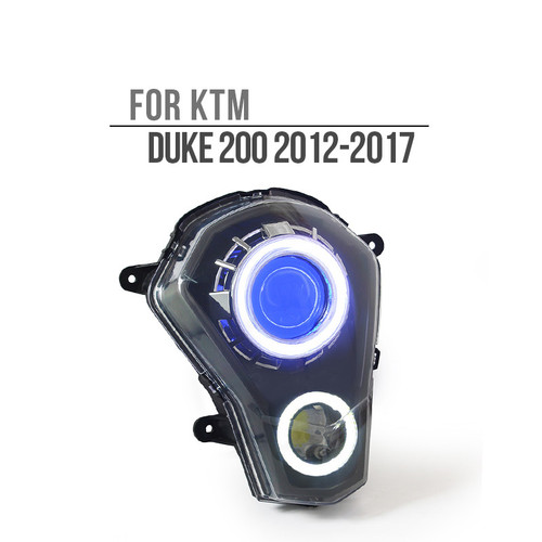 2012 2013 2014 2015 2016 KTM Duke 200  headlight