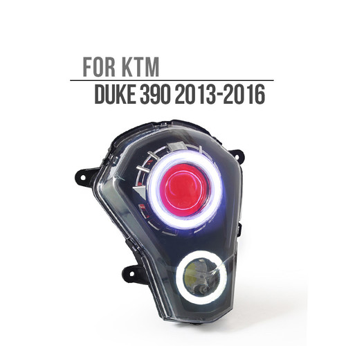 2012 2013 2014 2015 2016 KTM Duke 390 headlight