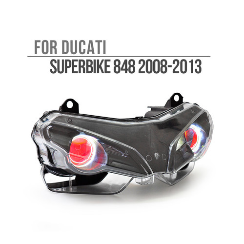 2008 2009 2010 2011 2012 2013 Ducati Superbike 848 headlight