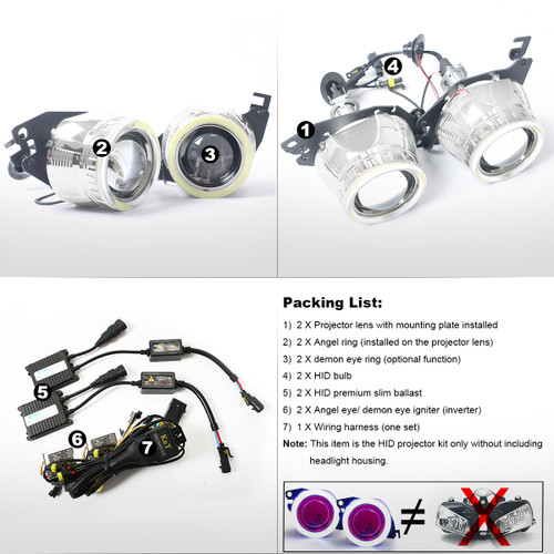 kt tailor-made hid projector kit hp7 for triumph daytona 675/675r 2013-