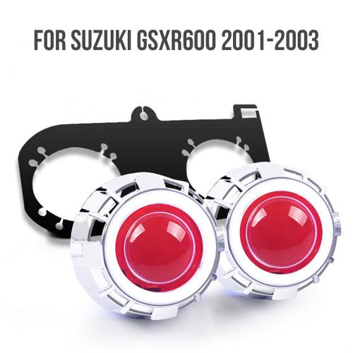 2001 GSXR600 HID kit