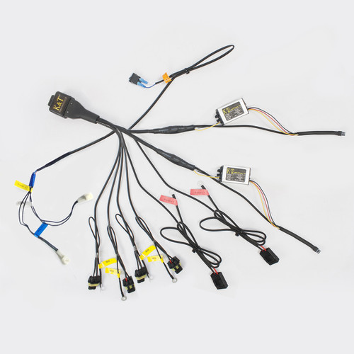 Tailor-Made Relay Wiring Harness for KT Yamaha Custom