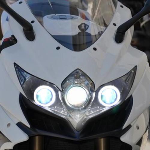 Fit for Suzuki GSXR750 2008-2010 LED Angel Eye Headlight Assembly