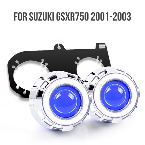 2001 2002 2003 Suzuki GsXR750 projector kit