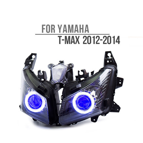 2012 2013 2014 yamaha t-max 530 headlight