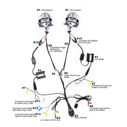 Hid Kit Wiring Diagram