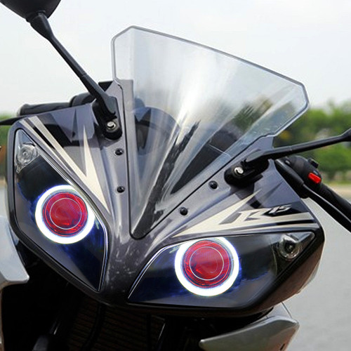 Fit for Yamaha R15 2012-2016 LED Demon Eye Headlight Assembly