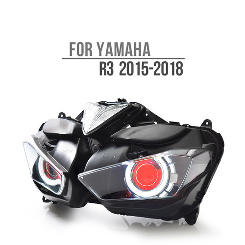 2013  Yamaha R3 headlight