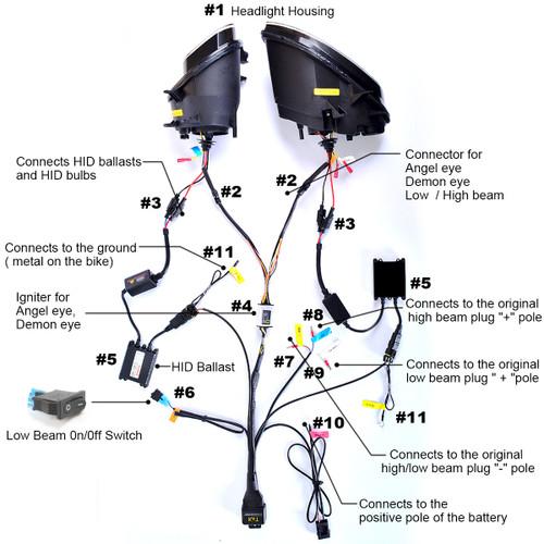 bmw hp4 wiring diagram bmw hp4 headlight 2013 2014  bmw hp4 headlight 2013 2014